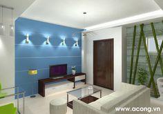 Thiết kế nội thất chung cư đẹp tại Hà Nội: Nội thất phòng khách chung cư dưới 100 m2