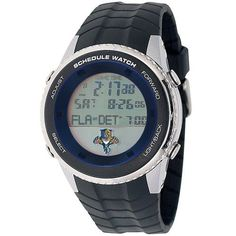 Florida Panthers Mens Schedule Wrist Watch
