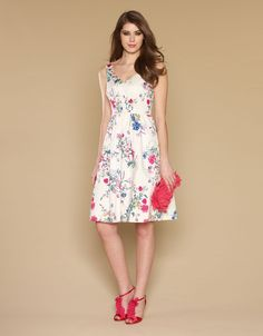 The Styling Up stylists recommend: Monsoon: Glasshouse Print Prom Dress Multi