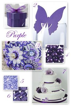 Sumptuous Purple Wedding Ideas
