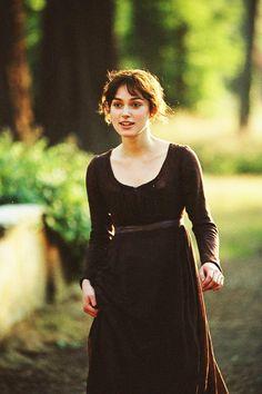 Keira Knightley, Elizabeth Bennet, Pride and Prejudice (2005)