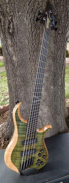 KrashBurn Guitars Atlas Bass 5