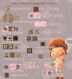 Animal Crossing Funny, Animal Crossing Wild World, Animal Crossing Guide, Animal Crossing Villagers, Animal Crossing Qr Codes Clothes, Animal Crossing Pocket Camp, Cabello Animal Crossing, Path Design, Motifs Animal