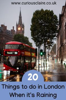 Don't let the weather ruin your visit to England's capital. Here are 20 things to do in London when it rains so you can make the most out of your trip london england europe Backpacking Europe, Europe Travel Guide, Travel Guides, Travel Abroad, Europe Destinations, London England, Oxford England, Cornwall England, Yorkshire England