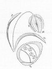 Haft matematyczny - Joanna K. Embroidery Cards, Embroidery Stitches, Embroidery Patterns, Card Patterns, Stitch Patterns, 123 Cards, Sewing Cards, String Art Patterns, Iris Folding