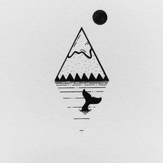 WEBSTA @ cheddakele - 55/365 A series of little mountain tattoos.  Which one's your favorite? ....#blackandwhite #illustration #tattoo #design #minimal #drawing #mountains #whale #graphicdesign #penandink #inkfeature #instafineliner #iblackwork #blackflashwork #copic #micron #art #sketch #dailysketch #sketchaday #blackworknow
