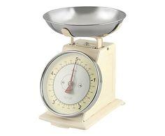 Bilancia in da cucina in acciaio avorio - 5 kg