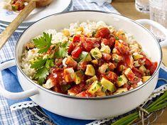 Zucchini-Reispfanne Rezept   LECKER