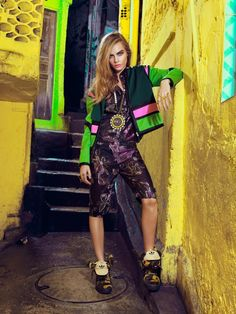 Cara-Delevingne for Vogue Brazil