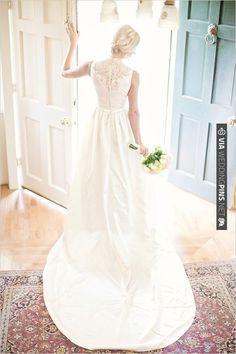super pretty lace back. | CHECK OUT MORE IDEAS AT WEDDINGPINS.NET | #bridesmaids