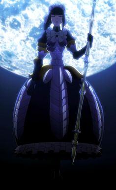 """Anime Overlord   """"I am Narberal Gamma, one of the battle maids, who swore loyalty to the overlord of the Great Tomb of Nazarick, the supreme being Ainz Ooal Gown. You lower life form should be honored to battle with me"""""""