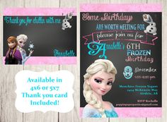 $7 Invitation comes as 5x7 or 4x6 digital file in both jpeg (single image) and pdf (2 images per 8.5x11 paper)    In notes to seller please