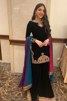 Pakistani Dress Design, Pakistani Dresses, Fabric Names, Sharara, Pure Silk, Wedding Season, New Trends, Cute Dresses, Designer Dresses