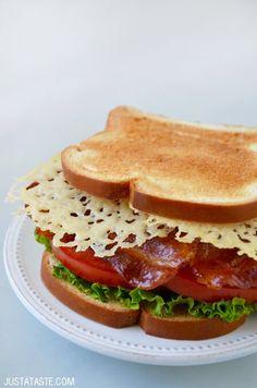 Parmesan Crisp BLT Sandwich