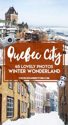 Quebec City in Winte