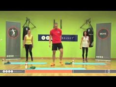 Low impact resistance and cardio workout for beginners to intermediate - YouTube