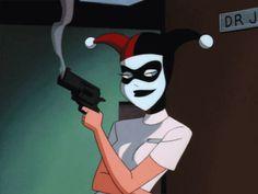 (GIF) Harley Quinn | Batman The Animated Series