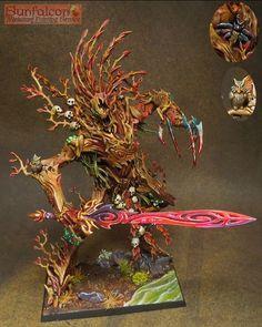 Wahammer | Wood Elves | Treeman