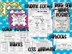 Speaking and Listening Common Core Resource Pack! ~Posters, Printables, Rubrics, Foldables~