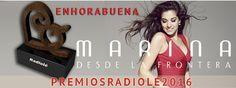 Marina garcia herrera - MARINA Galardonada a los Premios Radiolé 2016 – Venta de entradas