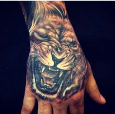 Awesome hand jammer tattoo by djtamble