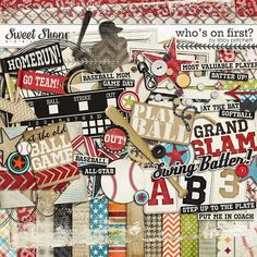 Digital Scrapbooking - Who's On First?  By Libby Pritchett
