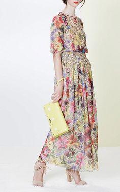 Patterned Blouse by Blugirl for Preorder on Moda Operandi