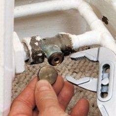 té de réglage pour radiateur