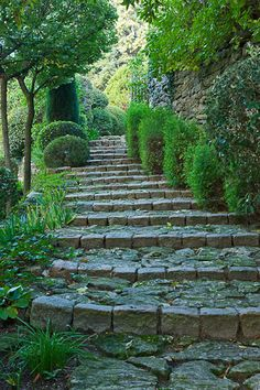 love the steps, love the wall