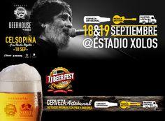 El 11vo Tj Beer Fest con Celso Piña es hoy y mañana. Info: http://tjev.mx/1FSwxe2  Van a ir?