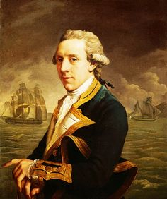 John Francis Rigaud: Portrait of Captain Robert Mann, 1779.