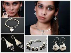 Zilveren sieraden o.a armbanden, verstelbare ringen, oorbellen, en nog veelmeer! www.dczilverjuwelier.nl