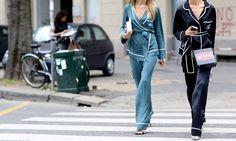 Vu chez Céline, Dolce & Gabbana, Alexander Wang, Calvin Klein, Etro et Givenchy, le sleepwear est détourné de sa version première et assumé au grand jour !La nuisette devient chic et épurée av…