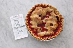 WHAT'S INSIDE: PIE RECIPES INSPIRED BY THE MOVIE AND MUSICAL WAITRESS
