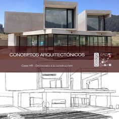 Conceptos Arquitectónicos Casa HR