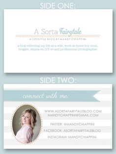 Designing a blog business card | a sorta fairytale - Be ready for #BECon2013