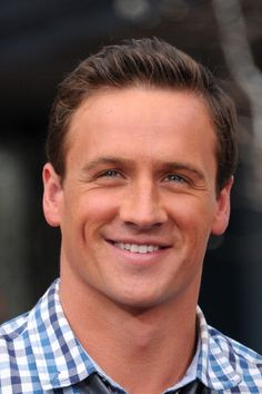 Ryan Lochte...he might be an idiot, but he's nice to look at.