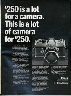 Canon FT-QL 1969 by Nesster, via Flickr