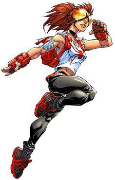 Anya Sofia Corazon aka Spider-Girl Daughter of Gilbert Corazon & Sofia Corazon Marvel Comic Character, Comic Book Characters, Marvel Characters, Comic Books Art, Female Characters, Comic Art, Character Art, Character Design, Hq Marvel