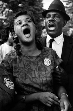 50 years ago Martin Luther King Jr. had a dream. Leonard Freed focused on the everyday heroes in the crowd that day - the people who fought and won the civil rights battles.