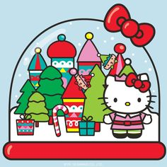 Happy Holidays! Have a wonderful time! Hello Kitty, December 2016