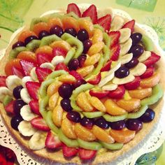 Tart Recipes, Dessert Recipes, Fruit Buffet, Food Carving, Food Garnishes, Bread And Pastries, Food Decoration, Food Platters, Creative Food