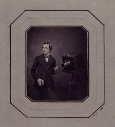 Self portrait with camera 1857