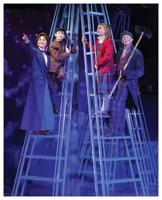 Mary Poppins is a classic and beloved movie. Mary Poppins Musical, Mary Poppins Theatre, Mary Poppins Kostüm, Chimney Sweep Costume, Dinner Theatre, Theater, High School Musical 3, Beloved Movie, Dance Academy