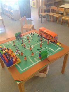 Voetbal verteltafel