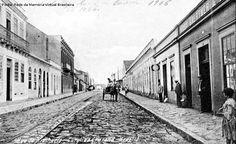The Cities. Rua Riachuelo. Foto antiga.