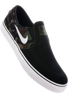 Nike-SB Zoom-Stefan-Janoski-Slip-On - titus-shop.com #MensShoes #ShoesMale #titus #titusskateshop