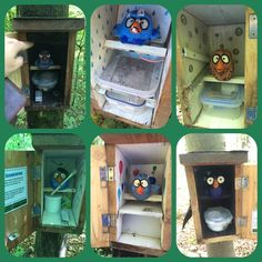 Are these angry birds or started birds?  Looks like a cool geocache series in Salzburg.  (pic by Rana on Twitter) #IBGCp