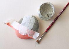giochi di carta: DIY painted stones