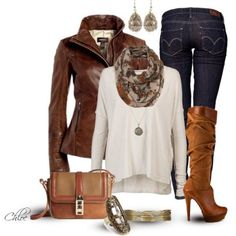 polyvore outfits trabajo ropa invierno